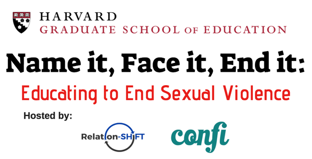 Name it, Face it, End it: Educating to End Sexual Violence